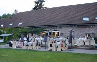 Mooi Personeelsfeest nabij Sint-Katelijne-Waver
